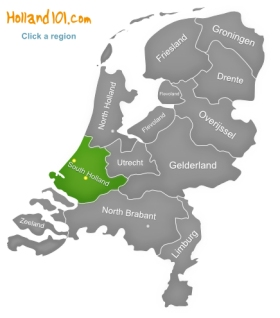 South Holland The Hague Rotterdam Alphen aan den Rijn Gouda