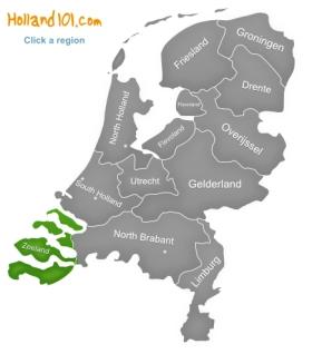 Zeeland Delta Works Middelburg Flushing Goes Veere Netherlands