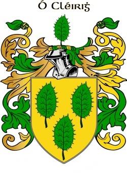 CLARK family crest