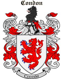 CONDON family crest