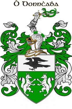 DONAHUE family crest