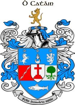 KEANE family crest