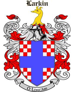 LARKIN family crest