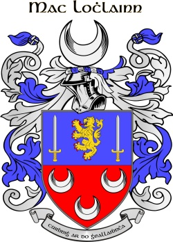 MCLOUGHLIN family crest