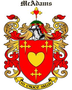 MCADAMS family crest