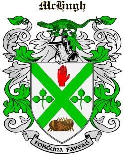 MCHUGH family crest