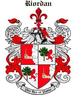 RIORDAN family crest